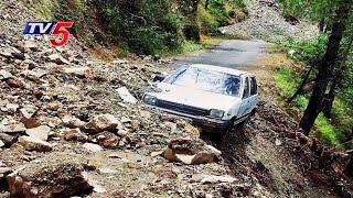 Massive Landslide Strikes Near Badrinath Route   15000 Tourists Stranded   Uttarakhand   TV5 News