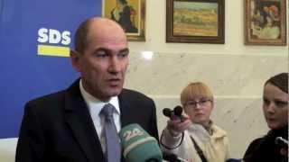 Janez Janša - ko zaupanje v vlado pade pod 25 odstotkov se razpiše predčasne volitve