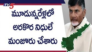 కేంద్రాన్ని నిలదీసిన చంద్రబాబు! | CM Chandrababu Serious On Central Govt Over AP Funds |TV5 News