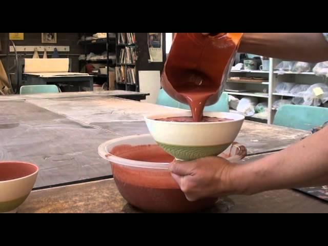62. Learning Carefully Glazing Bowls with Hsin-Chuen Lin