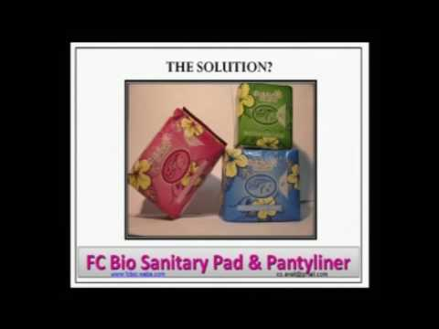 The Dangers of Normal Pads&Pantyliner. Its contains the toxic DIOXIN!! Save Yourself!!