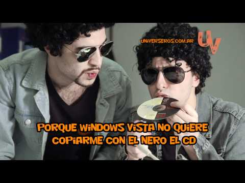 Mis Documentos - Andrés Calamaro & Windows Vista UNIVERSEROS VIDEO