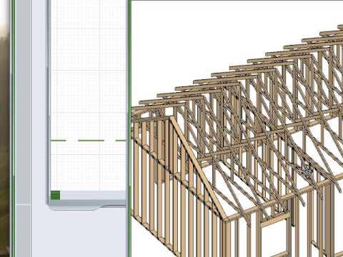 Building Roof Trusses Amp Scissor Trusses In Chief Architect