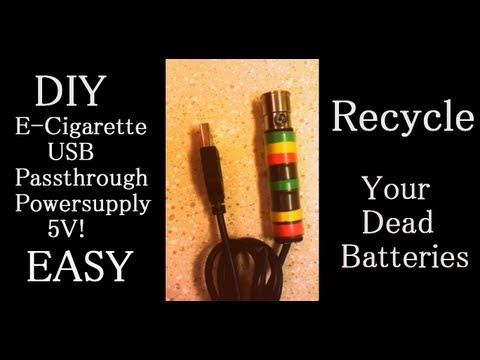 DIY E Cigarette USB