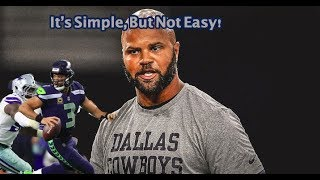 The Dallas Cowboys Wildcard Vs The Seattle Seahawks Could It Be As Simple As ABC? (MUST SEE)