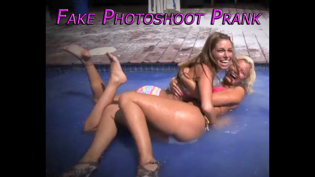 Sexy Bikini Phototshoot Prank