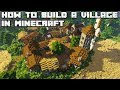 How to build an Awesome Village in Minecraft 1.13 Vanilla #2 [WORLD DOWNLOAD]