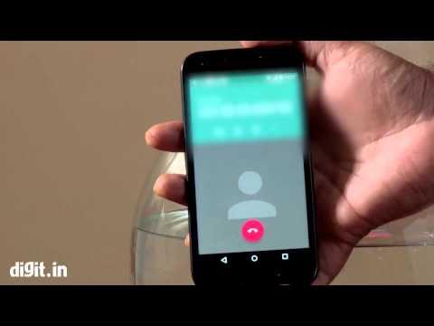 Moto G III Gen Water Stress Test