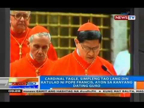 NTG: Pope Francis at Cardinal Tagle, may malalim na pagkakaibigan