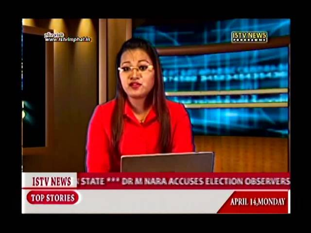 14th.April 2014 ISTV English news