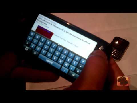Hands-on BlackBerry Torch 9860 - BlackBerry 7 Media Event