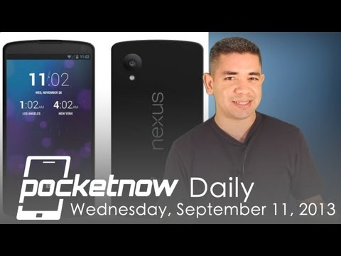 Google Nexus 5 FCC reports revived, iWatch troubles, Blue HTC One & more - Pocketnow Daily