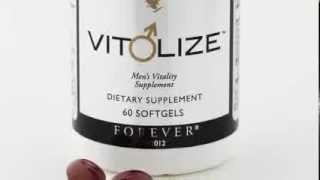 Men´s Vitality Supplement Vitolize FLP