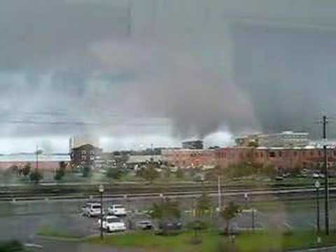 Tornado in downtown Pensacola, FL