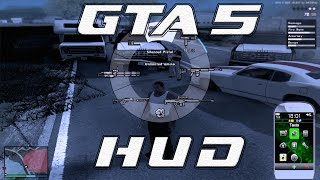 GTA San Andreas Mods - GTA V HUD by DK22Pac GAMEPLAY [DOWNLOAD][1080p]