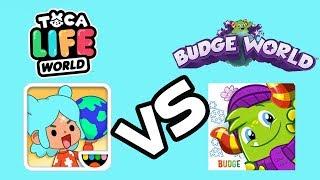 Budge World vs Toca Life World Who's The Best World App for Kids ??