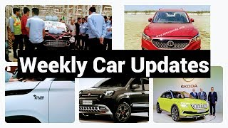 Weekly Car Updates # 20 || Ford/Mahindra Tie up, Skoda MQB Platform And Others