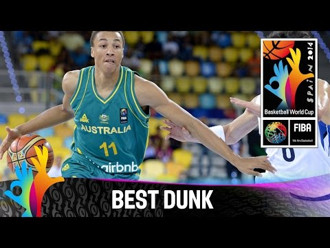 Korea V Australia - Best Dunk - 2014 Fiba Basketball World Cup video