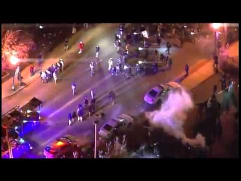Riots in Ferguson after no indictment for Darren Wilson | Mashable