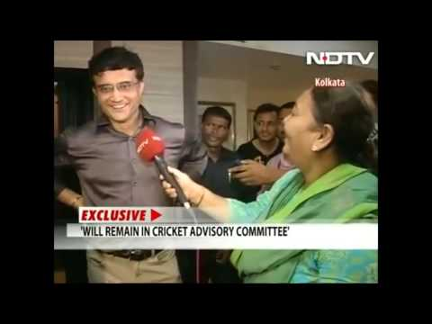 Sourav Ganguly new President of CAB
