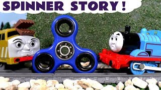 Fidget Spinner Game by Thomas & Friends Diesel 10 Family Fun Train Toys Toy Story for kids TT4U