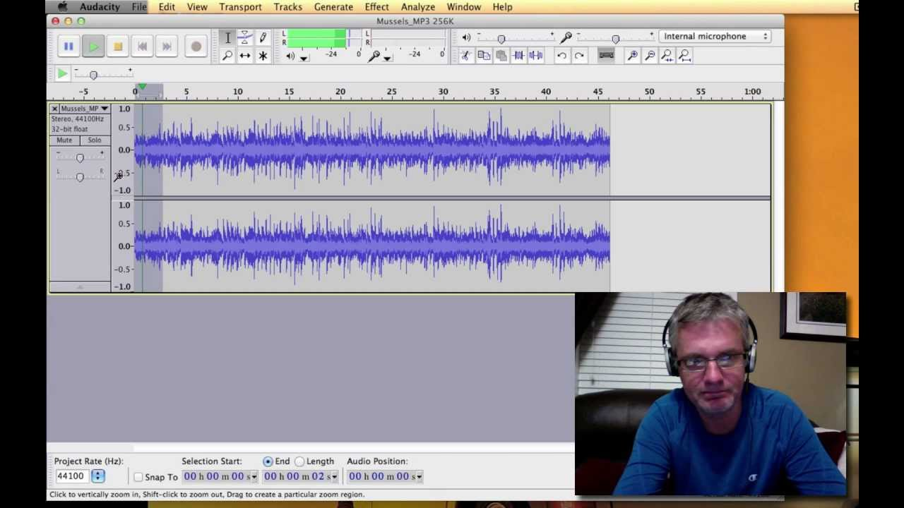 Tutorial How to Use Audacity to Edit Music & Sound Fade In Fade Out ...