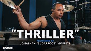 "Download Lagu Michael Jackson's Drummer Jonathan Moffett performs ""Thriller"" Gratis STAFABAND"