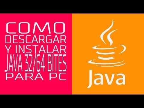 DESCARGAR Y INSTALAR JAVA 32 Y 64 BITS MINECRAFT 2015 ESP - Java Plataform - #AprendeConMKT
