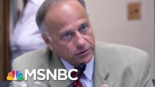 Steve King 'At Peace' After Rebuke Of White Supremacy Remarks | The 11th Hour | MSNBC
