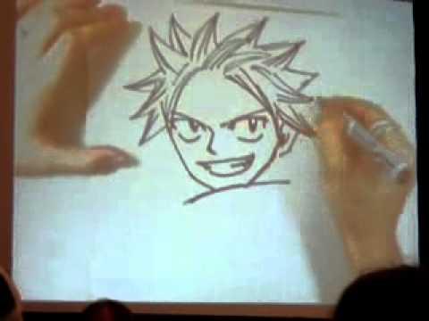 apprendre a dessiner natsu
