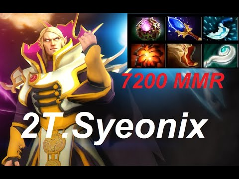2T.Syeonix Plays Invoker 7200 MMR - Top 1 Leaderboards SE As