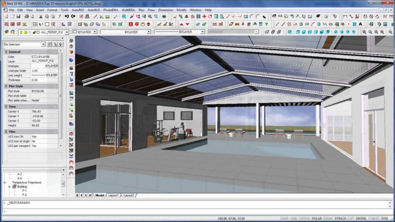 El programa bim m s f cil para usuarios de autocad youtube for Programas de 3d para arquitectos