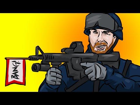 SWAT FAIL (Garry's Mod Trouble in Terrorist Town)