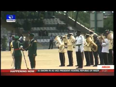 Nigeria 2015 President Muhammadu Buhari Swearing-in Parade -- Part 1 --29/05/15