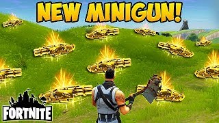 NEW MINIGUN IS CRAZY! - Fortnite Funny Fails and WTF Moments! #94 (Daily Moments)