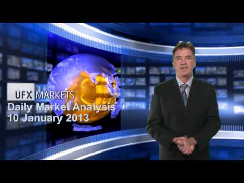 UFXMarkets Daily Forex Currency Trading News 10-January-2013