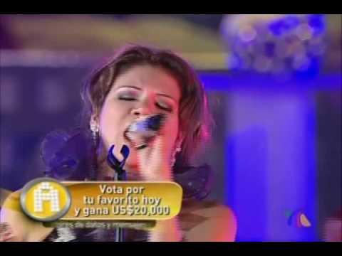 Fabiola Jaramillo - El hombre que yo amo (La Academia 7 Final)