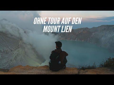 OHNE TOUR zu einem der GEFÄHRLICHSTEN ORTE der WELT I Mount Ijen