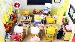 BACK TO SCHOOL MINIATURES: DIY Miniature School / Classroom