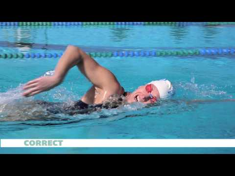Common Freestyle Breathing Mistakes - Swimmer Magazine video