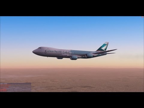 Boeing 747-8F Cathay Pacific Cargo - FSX