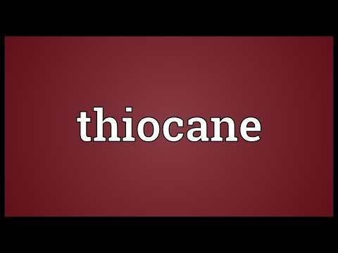 Header of thiocane