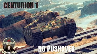 The Centurion 1 World of Tanks Blitz