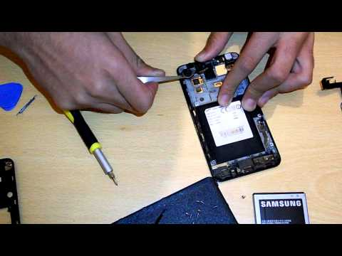 How To Disassemble Samsung Galaxy S2 GT-I9100   TheTechGeek4Life