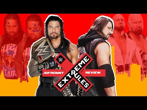 WWE Extreme Rules 2016 5/22/16 Review & Results