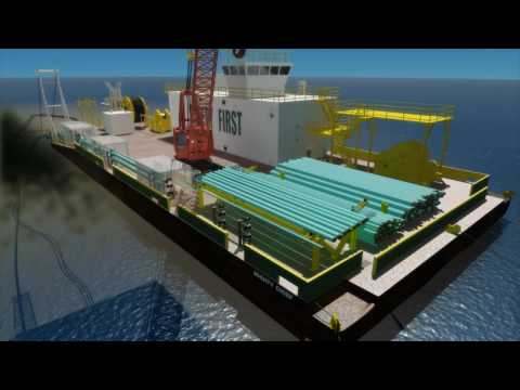 BISSO MARINE - Triple Pipelay Animation