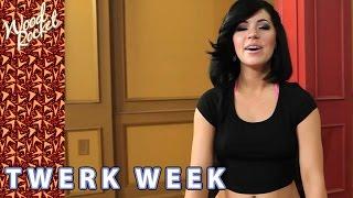 Pornstar Belle Noire Twerking for Twerk Week