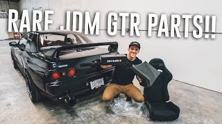 All the RARE JDM SKYLINE GTR PARTS I Brought Back from Japan!