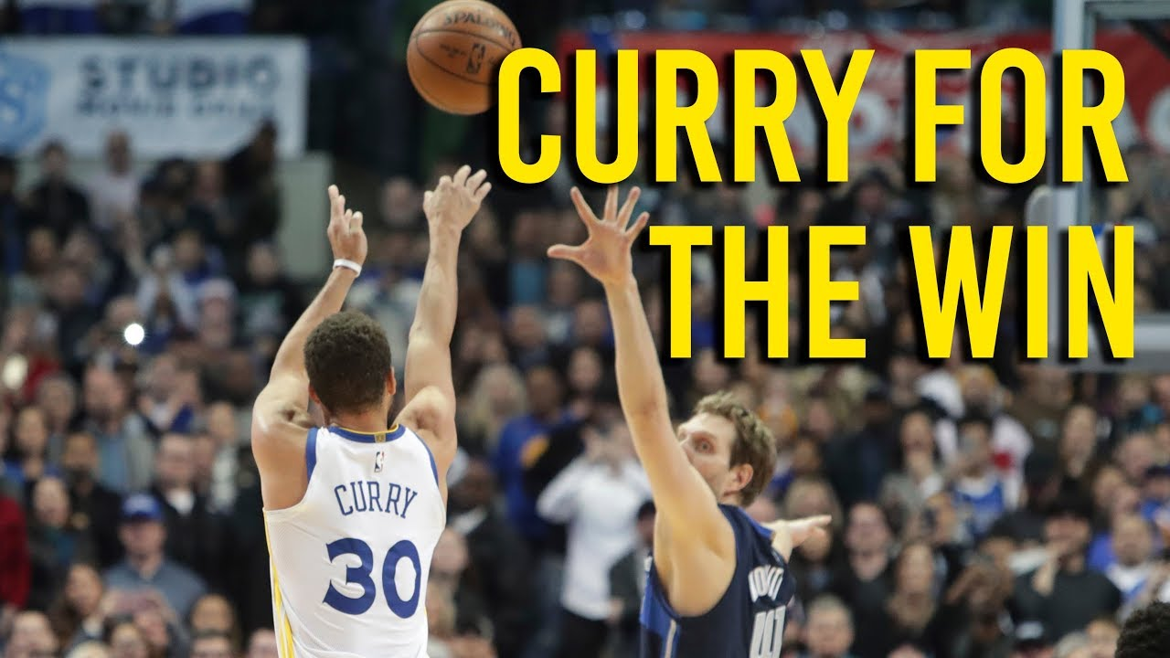 Curry talks about his game winner against Mavericks