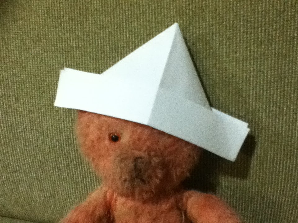 How to Make a Paper Hat  Origami  Simple and Easy Folds  Step by Step Instructions